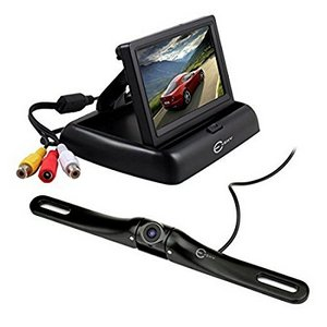 retrocamera per auto Esky EC170-20 con monitor da 4.3'' TFT LCD, angolo di Visione a 170 Gradi, aquistabile a circa 89 €